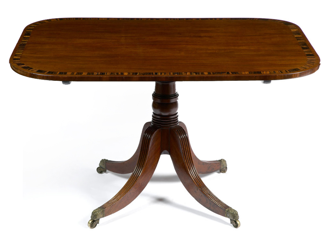 2571 Regency Mahogany Breakfast Table