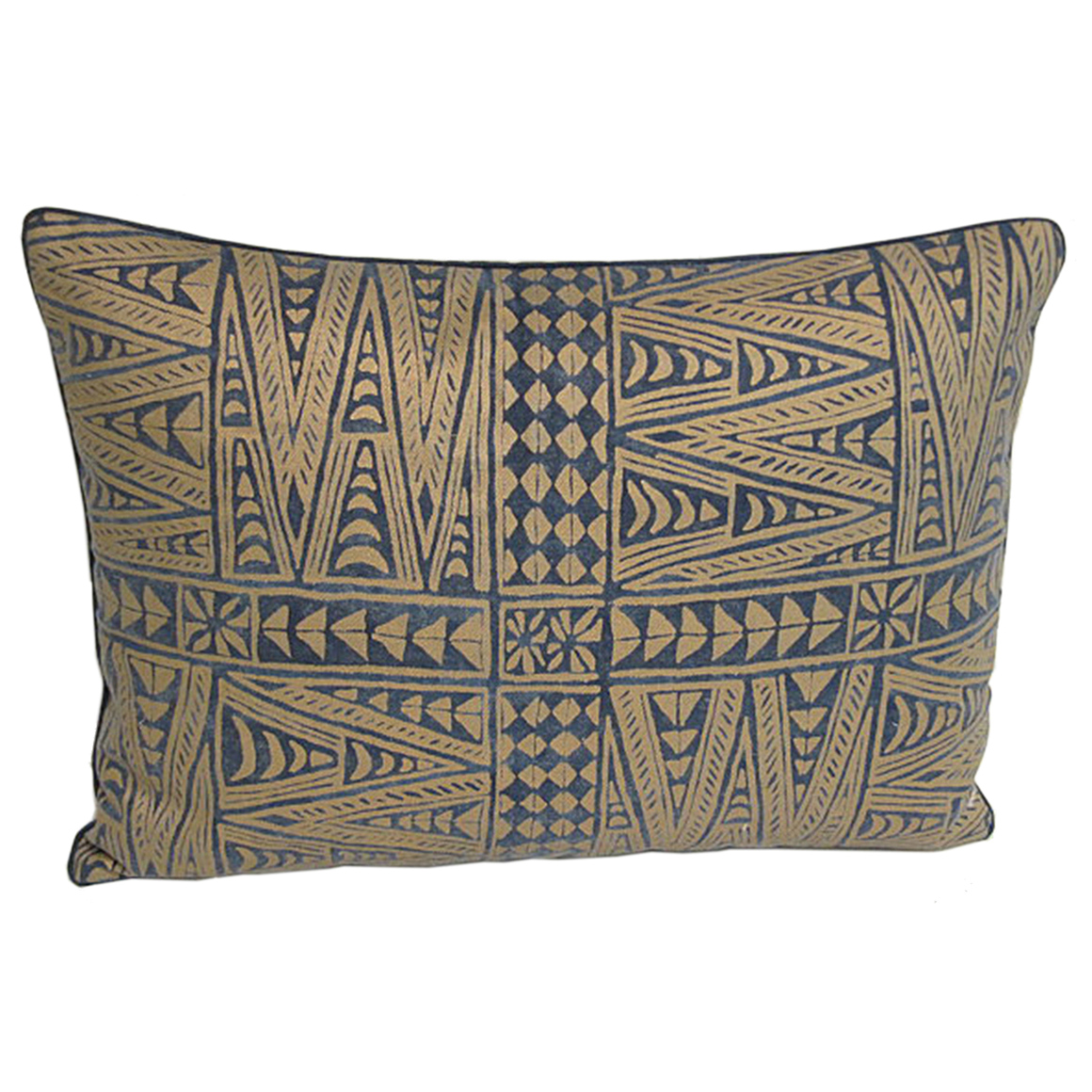 Satin Pillowcase Dublin: Set Of Three Handmade Pillows With An Indigo And