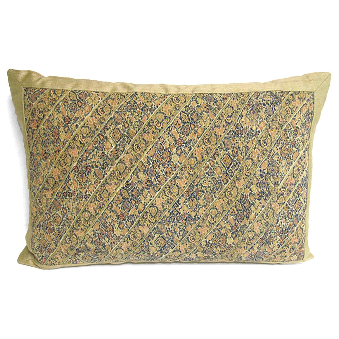 Satin Pillowcase Dublin: Handmade Silk Pillow With 18th Century Persian