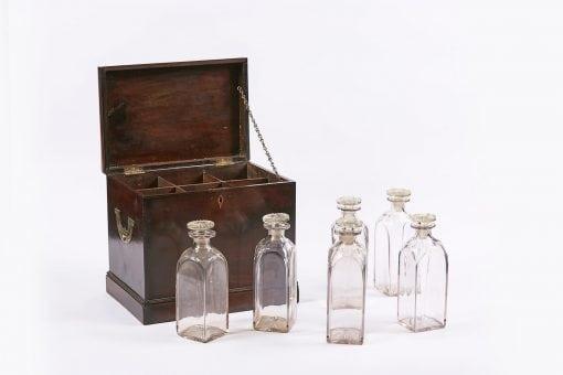 5074 - Early 19th Century George III Mahogany Decanter Box
