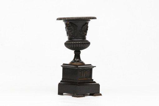19th Century Bronze Campagna Shaped Urn