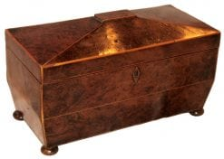 19th Century Tea Caddy
