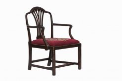 18th Century Mahogany Chippendale Style Carver