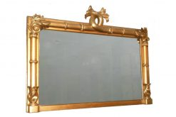 19th Century Giltwood Rectangular William IV Mirror