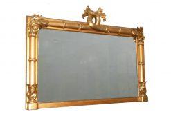 19th Century Giltwood Rectangular William IV Mirror