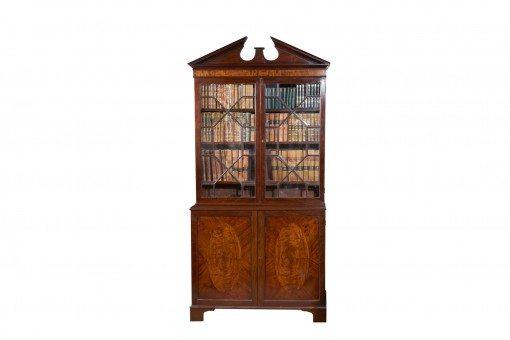 Early 19th Century George III Mahogany Bookcase
