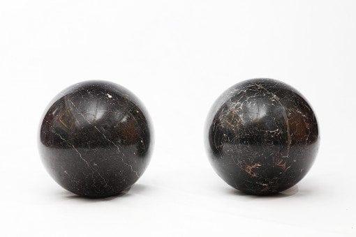 19th Century Marble Spheres
