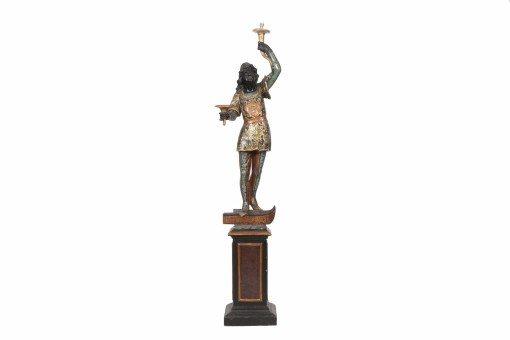 19th Century Blackamoor Figure