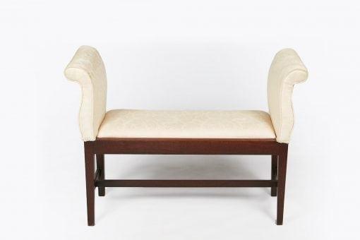 7115 - 19th Century Mahogany Window Seat