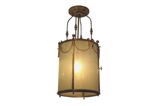 19th Century Brass Lantern