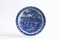 7689 - 19th Century English Blue and White Charger