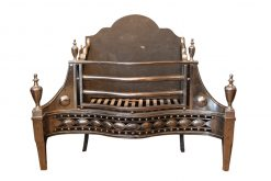 19th Century Steel Dog Grate