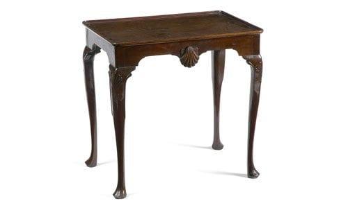 19th Century Mahogany Silver Table