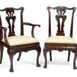 18th Century Set of Chippendale Style Dining Chairs