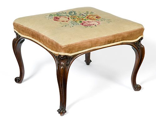 19th Century Mahogany Stool