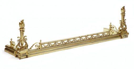 19th Century Brass Fender