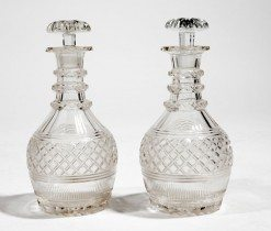 Early 19th Century Regency Cutglass Decanters