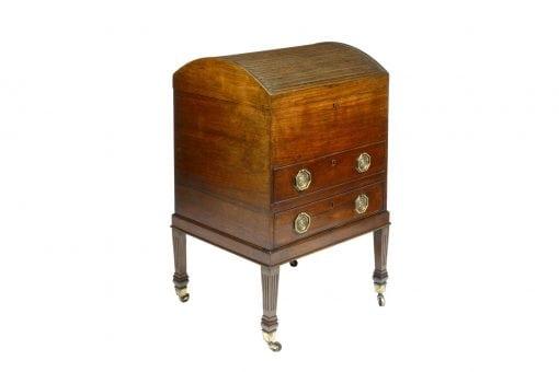 19th Century Padauk Wood Adams Cellarette