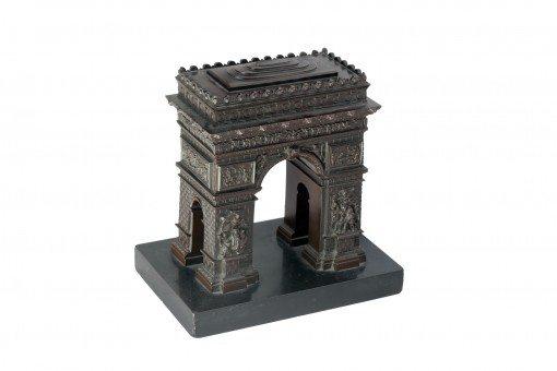 19th Century Bronze in the form of the Arc de Triomphe in Paris