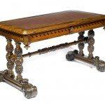 19th Century William IV Walnut Library Table