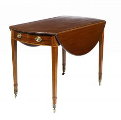 19th Century Mahogany Pembroke Drop Table