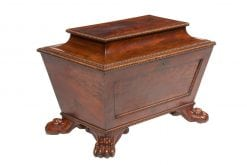 Early 19th Century William IV Mahogany Wine Cooler