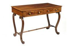 Early 19th Century Regency Mahogany Inlaid Side Table