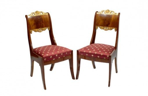 Mid 19th Century Set of Eight Russian Dining Chairs