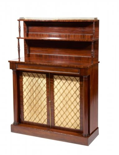 Early 19th Century Regency Mahogany Chiffonier