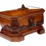 Early 19th Century George IV Mahogany Wine Cooler Stamped Holland and Sons, London