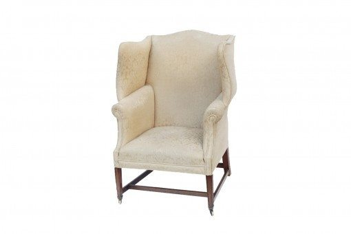 Early 19th Century Regency Wing Arm Chair