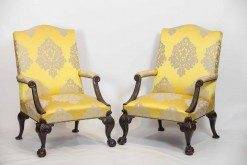 Early 19th Century Pair of Gainsborough Armchairs