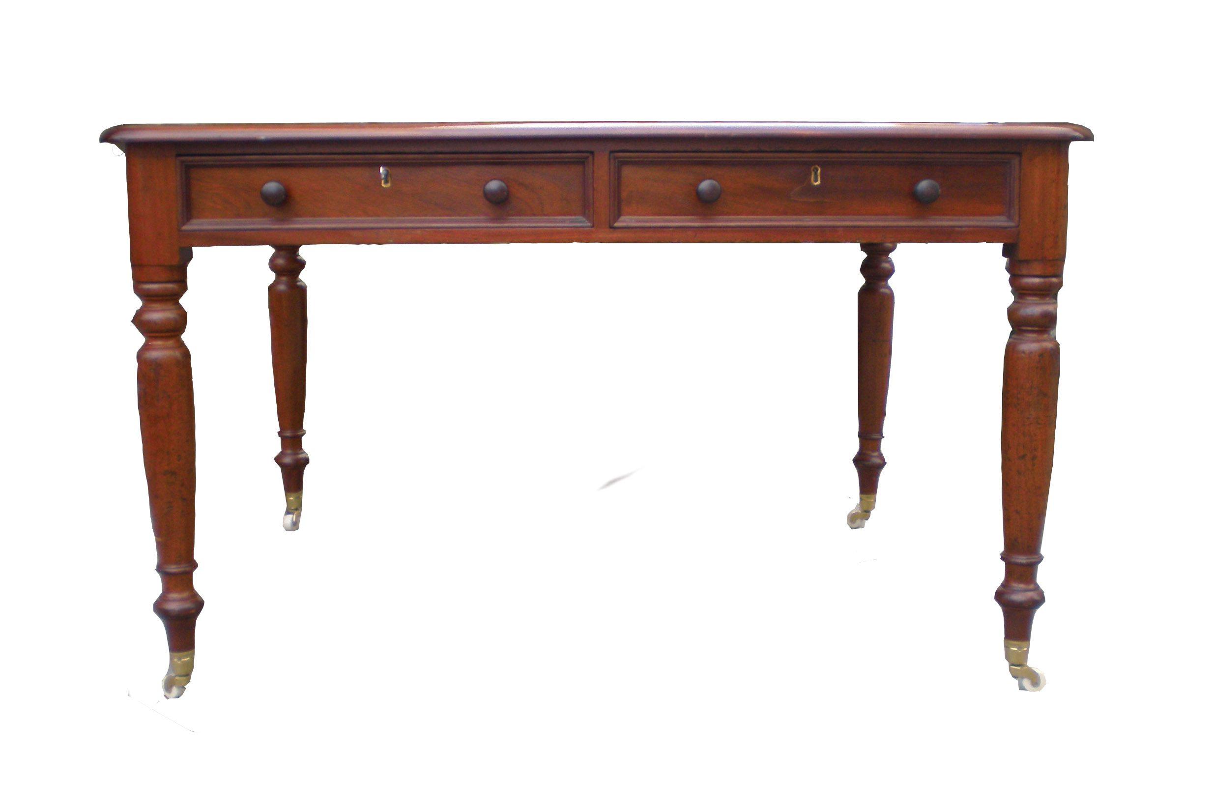 8877 19th Century Mahogany Writing Table O 39 Sullivan Antiques