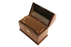 19th Century Walnut Letter Holder