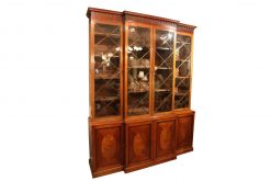 18th Century George III Breakfront Bookcase
