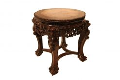 19th Century Chinese Cherrywood Table