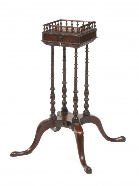 18th Century George II Chippendale Kettle Stand