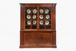Mid 19th Century William IV Mahogany Bookcase