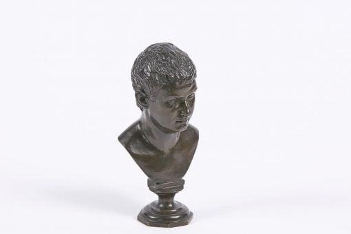 9331 - 19th Century Bronze Figure of Tiberius
