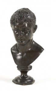 19th Century Bronze Figure of Tiberius