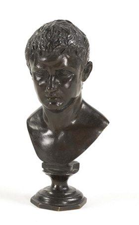 19th Century Bronze Figure of Tiberius
