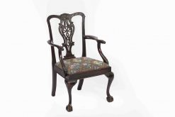 9341 - 18th Century Irish Occasional Chair after Chippendale