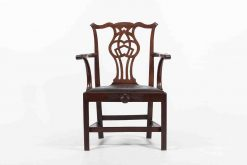 9362 - 18th Century Irish George II Mahogany Carverr