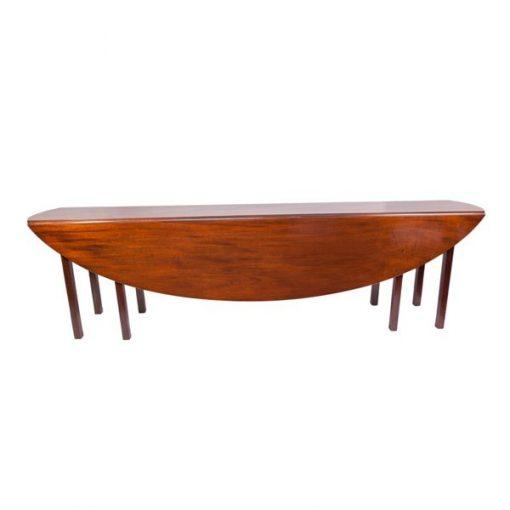 19th Century Mahogany hunt table