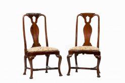 18th Century Queen Anne Walnut Side Chairs