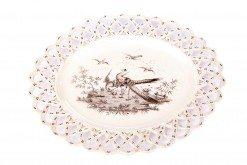 18th Century Oval Creamware Plate