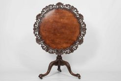 9534 - Early 19th George III Mahogany Tip Up Occasional Table