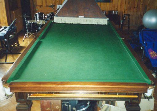 19th Century Snooker Table By Thurston Billiards