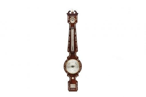 19th Century Irish Rosewood and Mother of Pearl Inlaid Banjo Barometer