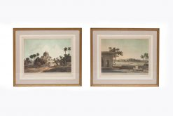 Daniell, Thomas (1749-1840), Daniell, William (1769-1837), A Pair of Scenes from Thomas and William Daniell's Third Set of 'Oriental Scenery' Series